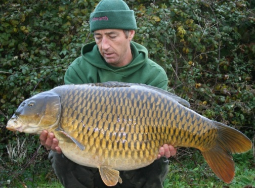 Martin Clarke catching a big common!