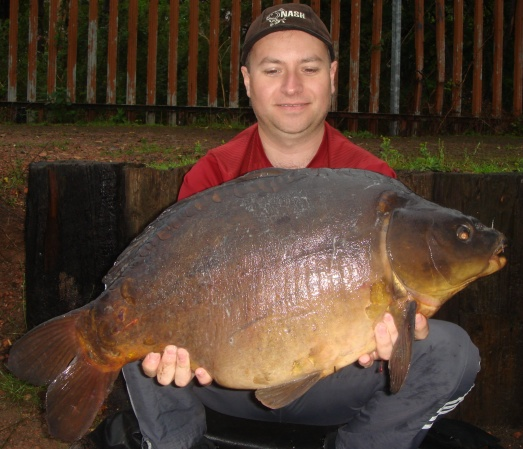 A big 30 pounder carp from popular lake in the midlands!