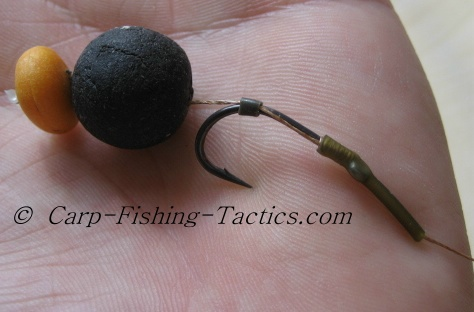 Testing the hook turn speed of the single bait carp rigs