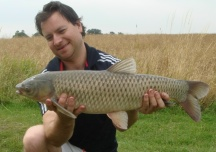 A double grass carp with great fighting ability
