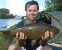 A Bradley's lake big tench