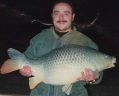 32 and half pounds Larford Common Carp
