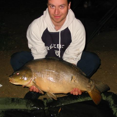 My 21 pound Carp from RMC
