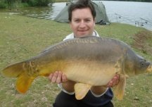 Carp from Bradley's lake 14 & half