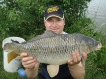 A double-figured common carp