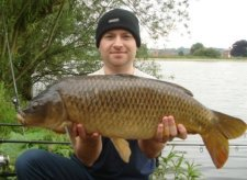 Image shows Common Carp on Pop Ups