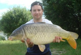 Image shows Summertime Location of Carp