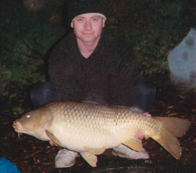 twenty Pounder Carp caught by Trees