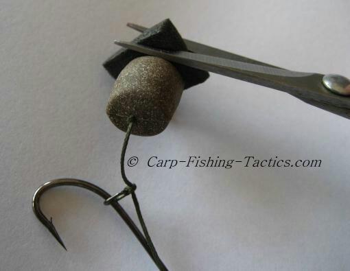 Critically balanced pellet carp rigs