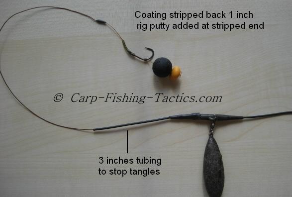 Image shows tangle-free fishing rig