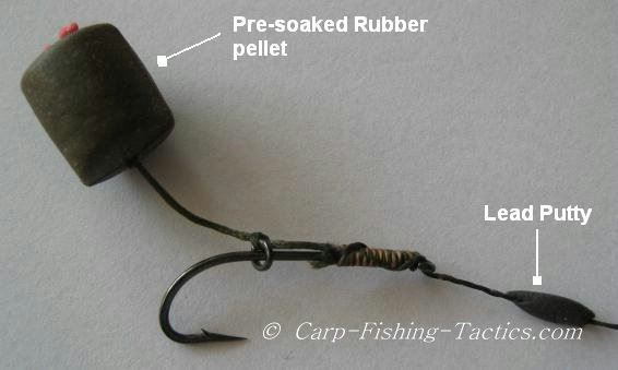 Image shows creation rubber pellet rig system