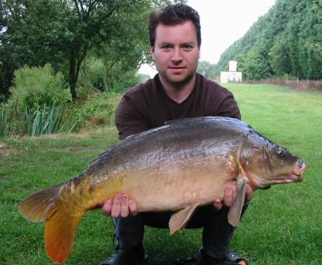 Photo showing a strain of carp