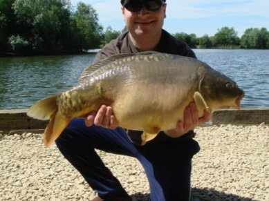 Photo Carp Caught Zig Rig Oxlease Lake