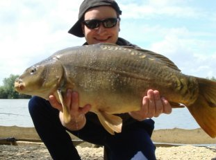 Photo of a Zig Caught Carp