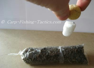 Image of trick rig ready for casting