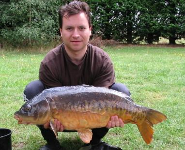 Image shows another big double caught with hookbaits
