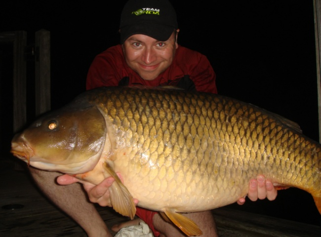 Visitors picture carp capture