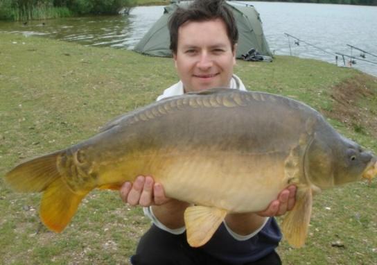 Photo of 14 half pound mirror carp fishing