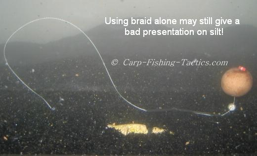 Image of braid line in silt