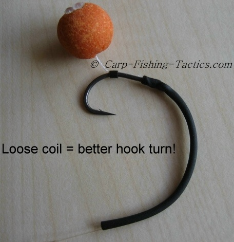 Image shows how to improve withy rig hooking potential